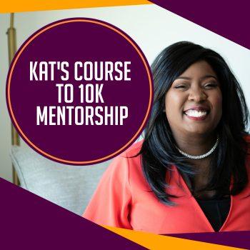 Kat's Course to 10k Mentorship